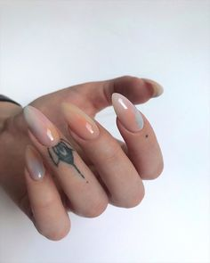 These Will Be the Biggest 2020 Nail Trends Summer Acrylic Nails, Best Acrylic Nails, May Nails, Hair And Nails, Nails Ideias, Exotic Nails, Fire Nails, Mermaid Nails, Minimalist Nails