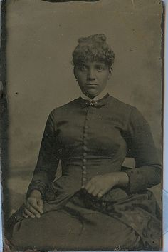 African American woman tintype | Flickr - Photo Sharing!