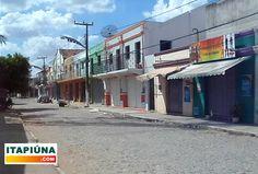 Greve da Polícia Militar no Cerá deixou ruas vazias em Itapiúna.