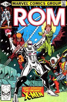 Rom (Spaceknight) #17 - Frank Miller cover