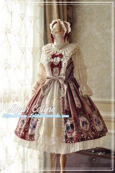 DearCeline -Hello! Miss Cat- Lolita JSK Open Front Version