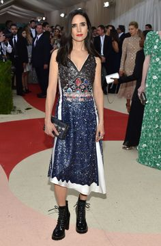 Jennifer Connelly in Louis Vuitton at the Met Gala 2016