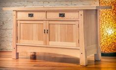 Arts & Crafts Sideboard in White Oak