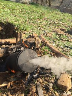 """Cloth Roasting on an Open Fire: Creating Char-Cloth and Explaining the """"Next Fire""""Mentality – BackYardBushCraft"""