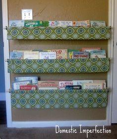 easy book shelves.