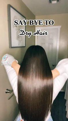 Hair Tips Video, Hair Videos, Natural Hair Care, Natural Hair Styles, Long Hair Styles, Diy Hair Treatment, Homemade Hair Treatments, Natural Hair Treatments, Hair Growing Tips