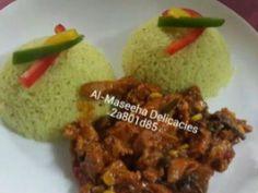 Chicken strips&Spicy rice