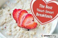We've rounded up this list of breakfasts that fall within the heart-healthy guidelines of the Academy of Nutrition and Dietetics and the American Heart Association, so you can have a good-for-you breakfast for every day of the week (and then some!). via @SparkPeople