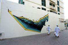 Juxtapoz Magazine - The Dubai Street Museum