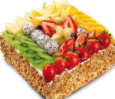 Tart Recipes, Healthy Dessert Recipes, Cooking Recipes, Oreo Dessert, Dessert Buffet, Candy Cakes, Cupcake Cakes, Fruit Cake Design, Fresh Fruit Cake