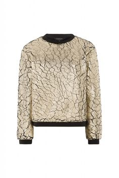 ELEVENPARIS FW15/16 gold sweater