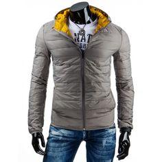 Šedé prošívané pánské větrovky s kapucí vhodné do přechodného počasí - manozo.cz Nasa, Winter Jackets, Mens Fashion, Moda Masculina, Manish, Fashion For Men, Men's Fashion, Men's Apparel, Men's Fashion Styles