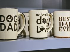 SB June FINDS: Father's Day mugs for babies and pets for $26 at Louisville Stoneware