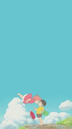 I remember this moment ♡ K Wallpaper, Kawaii Wallpaper, Aesthetic Iphone Wallpaper, Cartoon Wallpaper, Aesthetic Wallpapers, Wallpaper Backgrounds, Phone Backgrounds, Studio Ghibli Art, Studio Ghibli Movies