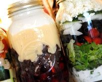 These Mason jar recipes are not only a great time saver, but can also make great gifts for family and friends!
