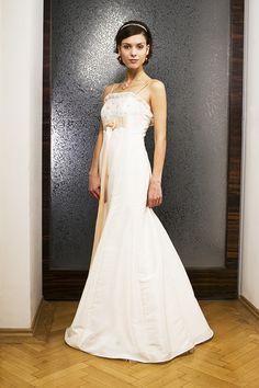 e226074c54a Svatební šaty empírového střihu   Zboží prodejce Fanča