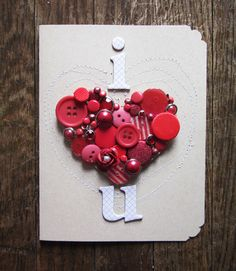 handmade card valentine - Google 検索
