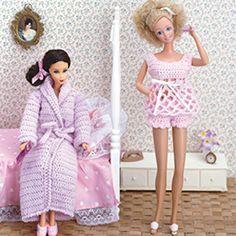 Fashion Doll: Nightwear Crochet ePattern