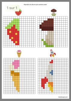 Preschool Art, Preschool Activities, Computational Thinking, Baby Cross Stitch Patterns, Creative Activities For Kids, Little Cotton Rabbits, Maths Puzzles, Activity Sheets, Coloring For Kids