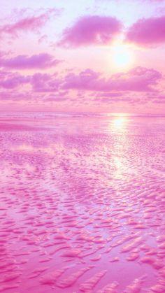 Summer Wallpaper, Beach Wallpaper, Pink Wallpaper Iphone, Iphone Background Wallpaper, Scenery Wallpaper, Colorful Wallpaper, Pretty Wallpapers Tumblr, Cool Backgrounds Wallpapers, Pretty Backgrounds