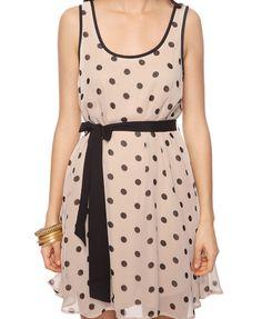 Polka Dot Shift Dress | FOREVER21 - 2000035821