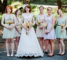 Bridesmaids all different