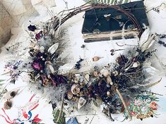 Christmas Wreaths, Holiday Decor, Fall, Vintage, Christmas Swags, Autumn, Holiday Burlap Wreath, Vintage Comics, Primitive