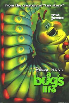A Bug's Life Animation Movie Poster. From Walt Disney Poster shop Disney And Dreamworks, Disney Pixar, Walt Disney, Animated Movie Posters, Original Movie Posters, Pixar Movies, Disney Movies, Disney Characters, Disney Fan