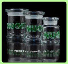 NUGS 420 Classic Jar Glass Storage Jars, Jar Storage, Glass Jars, Mason Jars, Herbal Vaporizer, Best Vaporizer, Cheap Bongs, Smoking Accessories, Drying Herbs