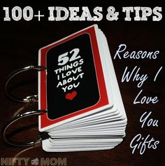 100+ Ideas & Tips for 'Reason I Love You' Gifts - Great Anniversary or Valentine's Day Gift!