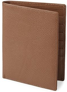 Shvigel RFID Passport Wallet  Leather Travel Holder Case  Cover for Men  Women Light Brown -- Check out the image by visiting the link.