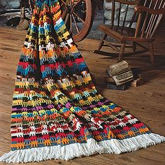 1000+ images about Scrap Yarn Crochet afghans on Pinterest ...