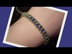 Caterpillar Ring with Tila beads Beading Tutorial by HoneyBeads1 (Video tutorial) - YouTube