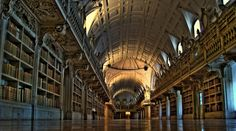 Biblioteca / Library   Palácio Nacional de Mafra / National Palace of Mafra   Portugal