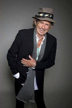 Keith Richards 2013 - Reality sets in outsigt the lights and all the stage makeup