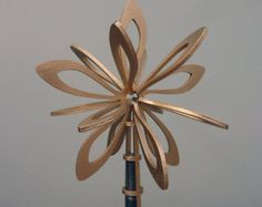 Laser-cut Christmas tree topper / star – gold