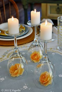 Lush Fab Glam: Spring Entertaining: Create Beautiful D.I.Y Center Pieces.