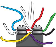 Knowing the ABYC color codes makes troubleshooting electrical problems easier. Boat Wiring, John Boats, Boating Tips, Buy A Boat, Build Your Own Boat, Boat Projects, Bass Boat, Boat Stuff, Boat Design