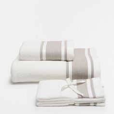 ???ItxProductPage.image.alt.nonumber??? COTTON TOWELS WITH LINEN BORDER