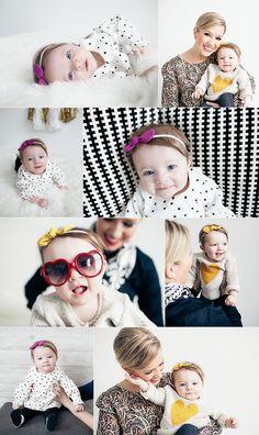 Nellie's 6 month photoshoot - Annie Johnson | Design Love Life @Jen Meneghin Photography