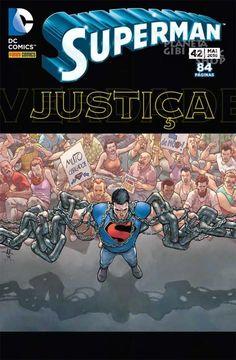 LIGA HQ - COMIC SHOP SUPERMAN (REBOOT) #42 PARA OS NOSSOS HERÓIS NÃO HÁ DISTÂNCIA!!!