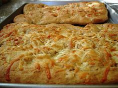 Luci's Morsels: Rosemary + Cheese Focaccia