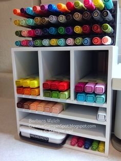 Creative Stampin' Spot: Problem Solved......Blendabilities storage