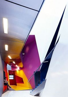 Surface Architects Bring A Graphic Revival to Birbeck College for Film & Media