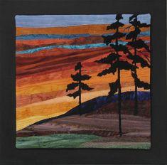 New fantasy landscape art mountains ideas Landscape Art Quilts, Fabric Postcards, Tree Quilt, Fantasy Landscape, Landscape Design, Applique Quilts, Fabric Art, Textile Art, Collage Art