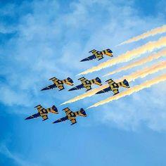 L-39s performing - available as a stunning group experience. From Riga, Latvia 🇱🇻 #instaplane #instagramaviation #plane #fly #us #usaf #military #migflug #fun #fighterjet #toys #toysforboys #boytoys #adventure #l39 #albatros #fighterpilotforaday #fighterpilot #jetflight #riga #latvia #baltic #balticbees