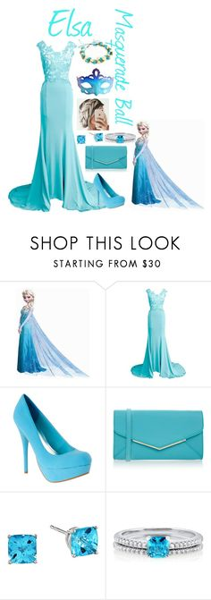 """""""Masquerade ball:Elsa"""" by brooke-lynn-nelson ❤ liked on Polyvore featuring Disney, Furla, BERRICLE, Masquerade and Rut&Circle"""
