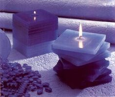 Lavender Candle's .. ( heavenly ) ..