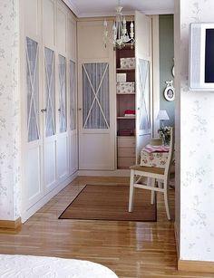 Armarios_01 Más Wardrobe Doors, Wardrobe Closet, Closet Bedroom, Home Bedroom, Master Bedroom, My Room, Girl Room, Casa Clean, Simple Bed