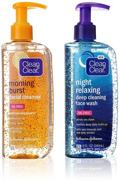 Clean & Clear Day and Night Face Cleanser Citrus Morning Burst Facial Cleanser with Vitamin C and Cucumber, Relaxing Night Facial Cleanser with Sea Minerals, Oil Free & Hypoallergenic Face Wash The Body Shop, Beauty Care, Beauty Skin, Beauty Tips, Beauty Hacks, Diy Beauty, Beauty Ideas, Face Beauty, Homemade Beauty